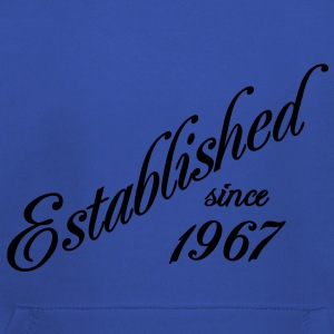 Established since 1967 T-shirts - Kinderen trui Premium met capuchon