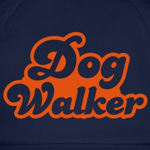 dog walker cute font pets helpful Shirts - Baseball Cap