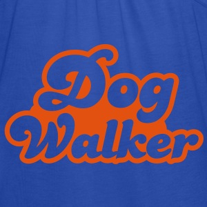 dog walker cute font pets helpful Shirts - Women's Tank Top by Bella