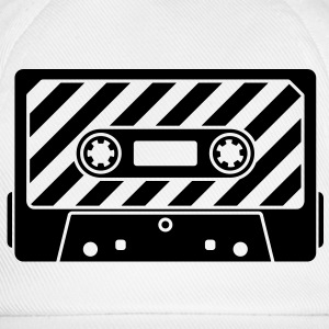 Audio Tape - Music Cassette T-Shirts - Baseball Cap