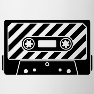 Audio Tape - Music Cassette T-Shirts - Tasse