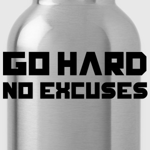 Go Hard. No Excuses. Tee shirts - Gourde