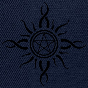 pentagram gothic pagan Tee shirts - Casquette snapback