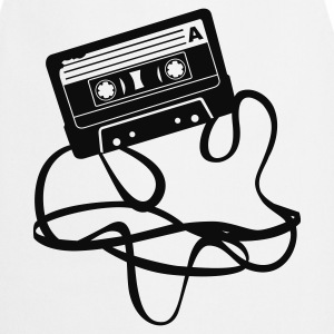Cassette tape - Audio Tape T-shirt - Grembiule da cucina