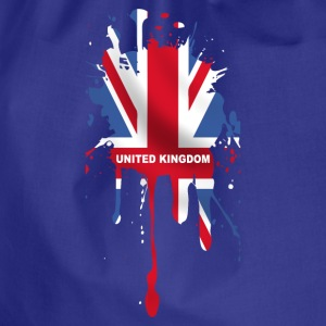 union jack 5 T-Shirts - Drawstring Bag