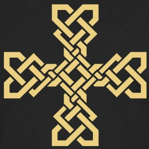 Simple Celtic Cross T-Shirts - Men's Premium Longsleeve Shirt