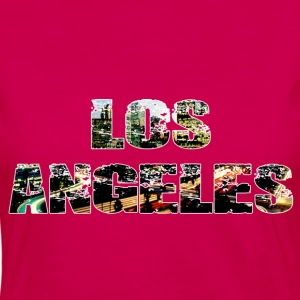Los Angeles Tee shirts - T-shirt manches longues Premium Femme