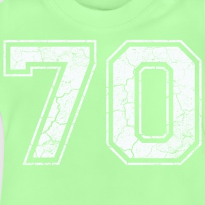 70 in white in the used look Shirts - Baby T-Shirt