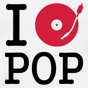 :: I dj / play / listen to pop :-: - Premium T-skjorte for menn