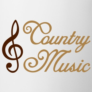 Country Music countrymusic Musik T-Shirts - Tasse