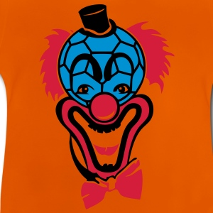 clown handball balle nez rouge noeud pap Tee shirts - T-shirt Bébé