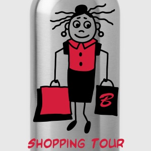 Shopping Tour - V2 T-Shirts - Trinkflasche