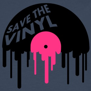 save_the_vinyl T-skjorter - Premium langermet T-skjorte for menn