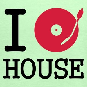 :: I dj / play / listen to house :-: - Vrouwen tank top van Bella