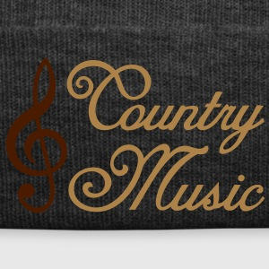 Country Music * Clef * clef de sol Tee shirts - Bonnet d'hiver