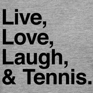 live love laugh and tennis T-Shirts - Men's Premium Longsleeve Shirt