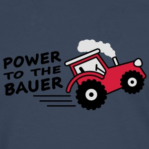 power_to_the_bauer T-shirts - Mannen Premium shirt met lange mouwen