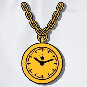 clock, chain T-Shirts - Drawstring Bag