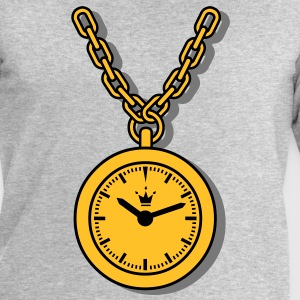 clock, chain T-Shirts - Men's Sweatshirt by Stanley & Stella