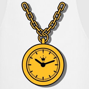 clock chain Tee shirts - Tablier de cuisine