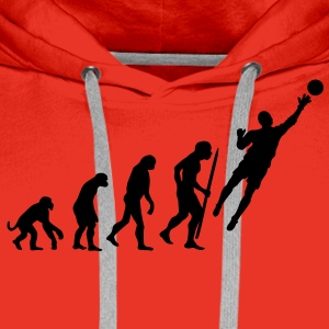 evolution_goalkeeper Tee shirts - Sweat-shirt à capuche Premium pour hommes