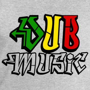 dub music T-Shirts - Men's Sweatshirt by Stanley & Stella