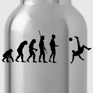 Evolution bicycle kick  T-Shirts - Water Bottle