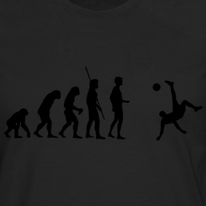 Evolution bicycle kick  T-Shirts - Men's Premium Longsleeve Shirt