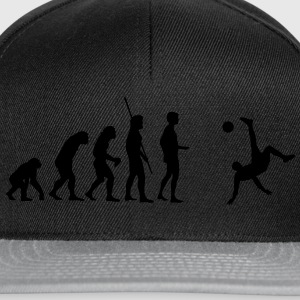 Evolution bicycle kick  T-Shirts - Snapback Cap
