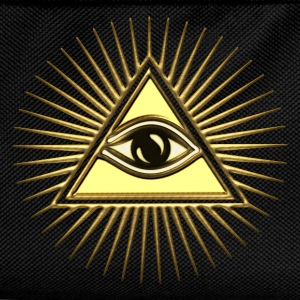 Pyramid Eye - symbol consciousness & divinity. T-Shirts - Kids' Backpack