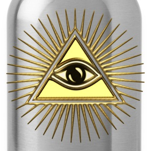 Pyramid Eye - symbol consciousness & divinity. T-Shirts - Water Bottle