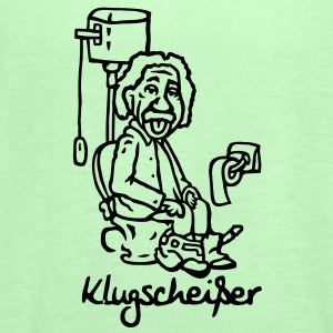 Klugscheißer Einstein - Women's Tank Top by Bella