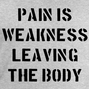 Pain Is Weakness Leaving the Body T-shirts - Sweatshirt herr från Stanley & Stella