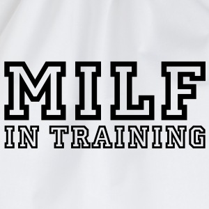 milf in training T-shirt - Sacca sportiva