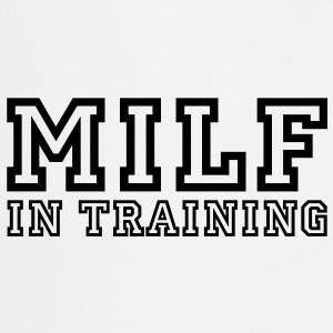 milf in training Koszulki - Fartuch kuchenny