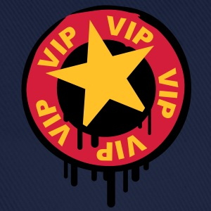 vip_star_stamp T-Shirts - Baseball Cap