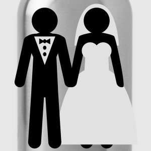 wedding_couple Tee shirts - Gourde