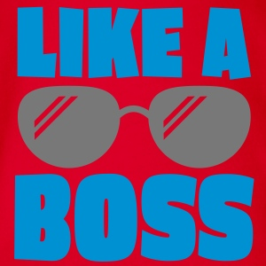 like a boss 2c T-Shirts - Baby Bio-Kurzarm-Body
