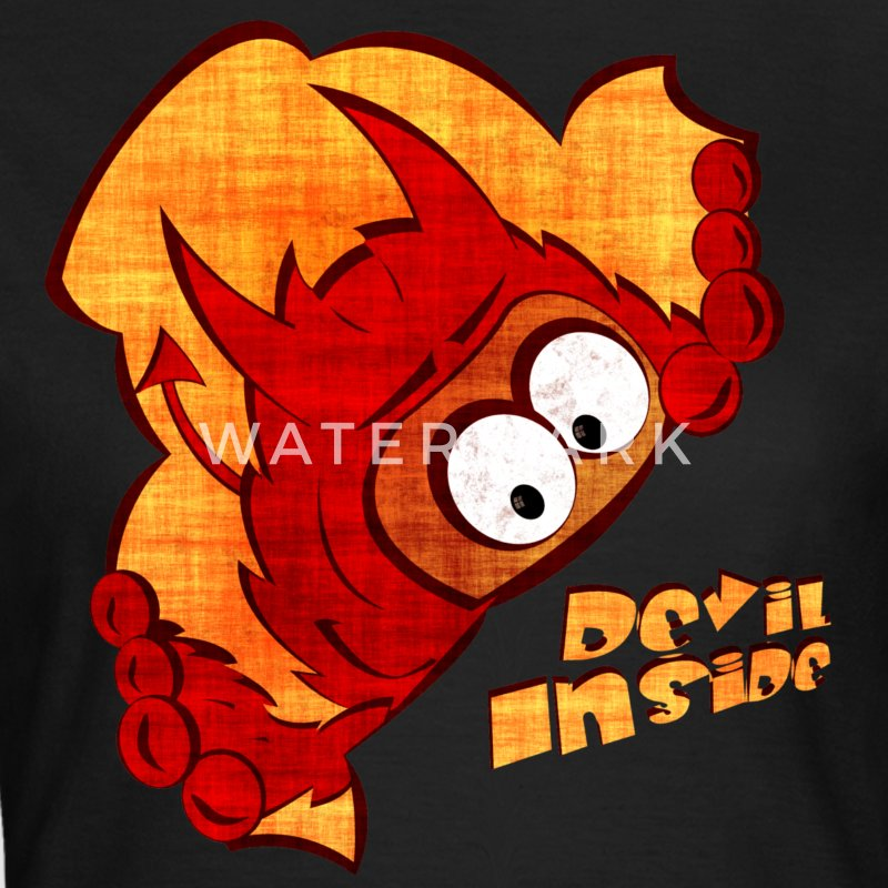 Devil Inside Shirt for Girls - Frauen T-Shirt