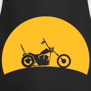 Chopper in the sunset  T-Shirts - Cooking Apron
