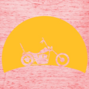 Chopper in the sunset  T-Shirts - Women's Tank Top by Bella