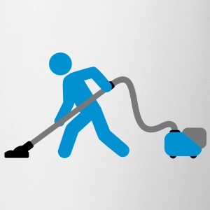 vacuuming_boy T-skjorter - Kopp