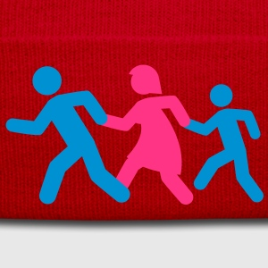 running_family_with_boy T-shirts - Winterhue