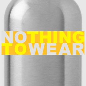 Nothing to wear T-shirt - Borraccia