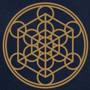 Metatron`s Cube - Hypercube - Sacred Geometry  / Tee shirts - Sweat-shirt Homme Stanley & Stella