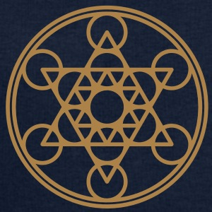 Metatrons Cube, Star Tetrahedron,  Flower of Life/ Tee shirts - Sweat-shirt Homme Stanley & Stella