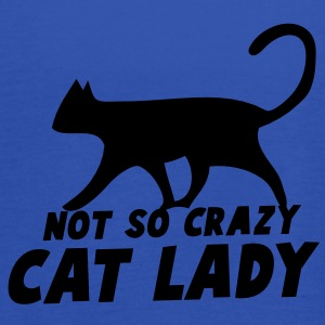 NOT so crazy cat lady Shirts - Women's Tank Top by Bella