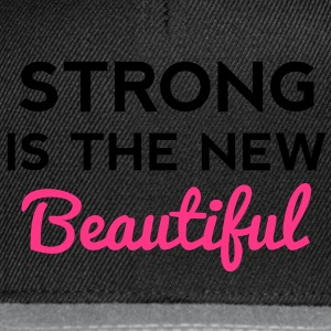 Strong Is the New Beautiful T-Shirts - Snapback Cap