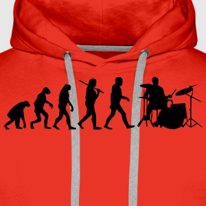 evolution of drums T-Shirts - Männer Premium Hoodie