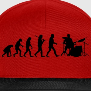 evolution of drums T-Shirts - Snapback Cap